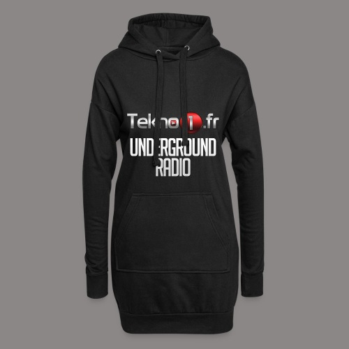 logo tekno1 2000x2000 - Sweat-shirt à capuche long Femme