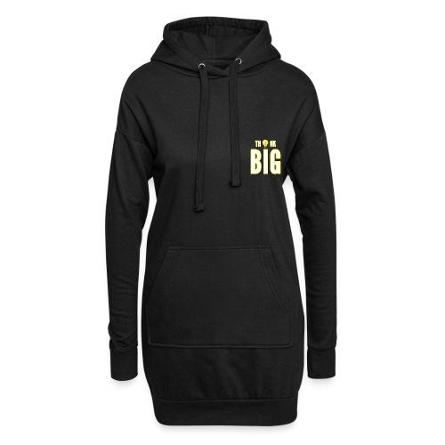 Think big - Sweat-shirt à capuche long Femme