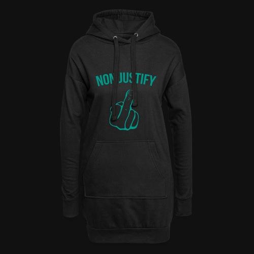 NonJustify Merchandise - Hoodie-Kleid