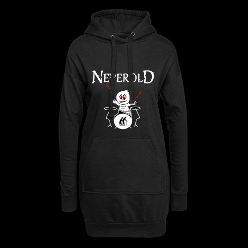LOGO NEVEROLD - Sweat-shirt à capuche long Femme