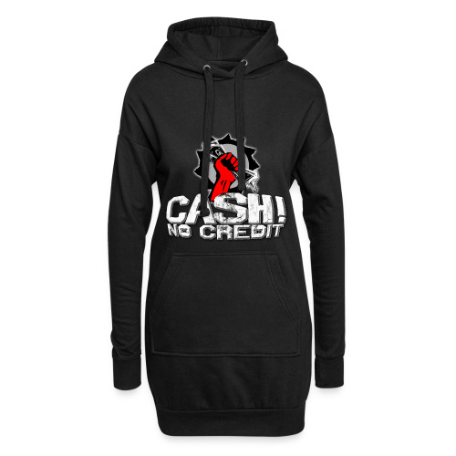 Official Cash! No Credit Merch - Hoodie-Kleid