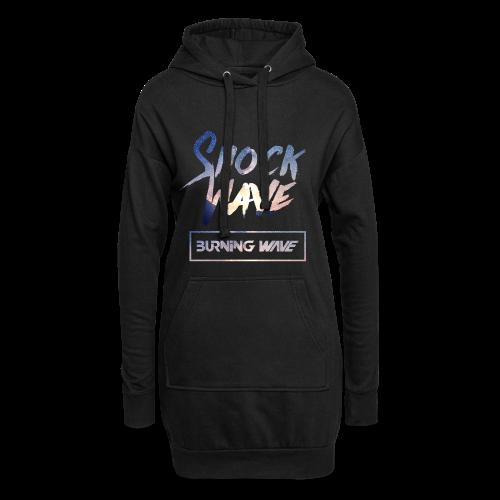 Burning Wave - Shock Wave - Sweat-shirt à capuche long Femme