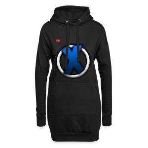 Großes Logo - Hoodie-Kleid