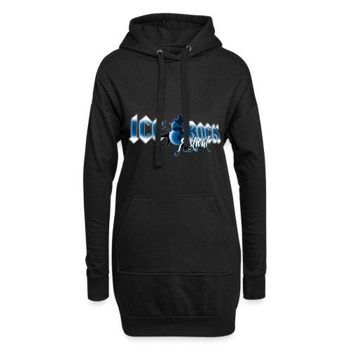 Schriftzug normal - Hoodie-Kleid