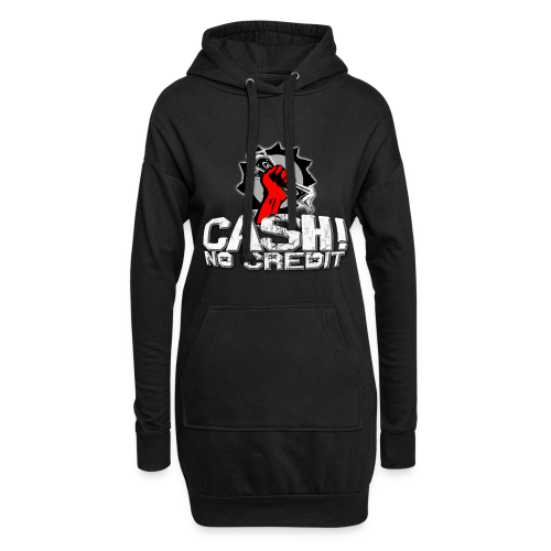 Official Cash! No Credit Merch - Hoodie-Kleid