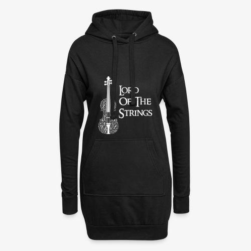 Lord of the Strings T-Shirt Englisch Violine - Hoodie-Kleid
