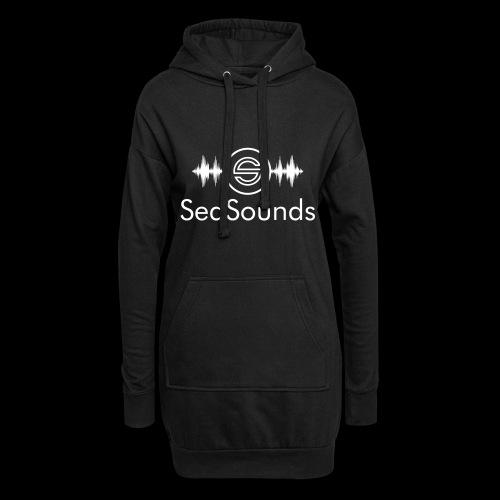 SeqSounds Logo mit Schrift - Hoodie-Kleid