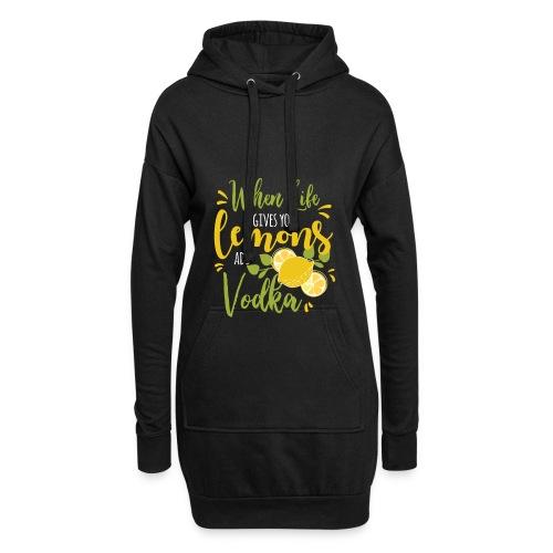 vodka lemon - Hoodie-Kleid
