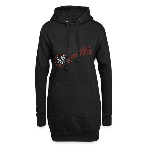 Blacklisted logo - Sweat-shirt à capuche long Femme