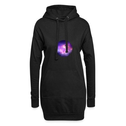 space-020 - Sweat-shirt à capuche long Femme