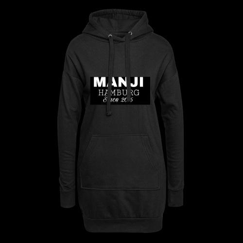 MANJI BLACK KOLLEKTION 2017 - Hoodie-Kleid