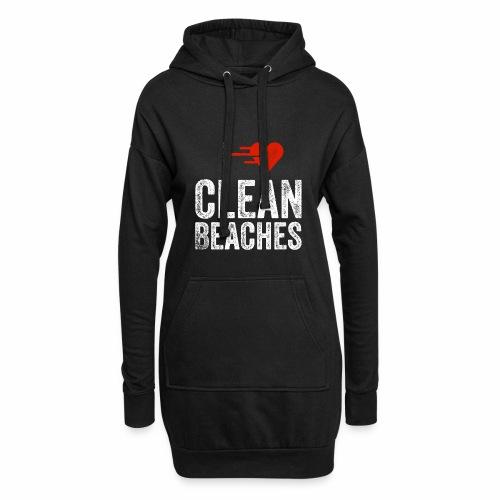 I Love Clean Beaches Shirt Save the Planet Shirt - Hoodie-Kleid