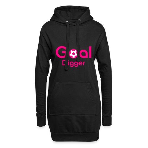 Goal Digger Pink - Hoodie Dress