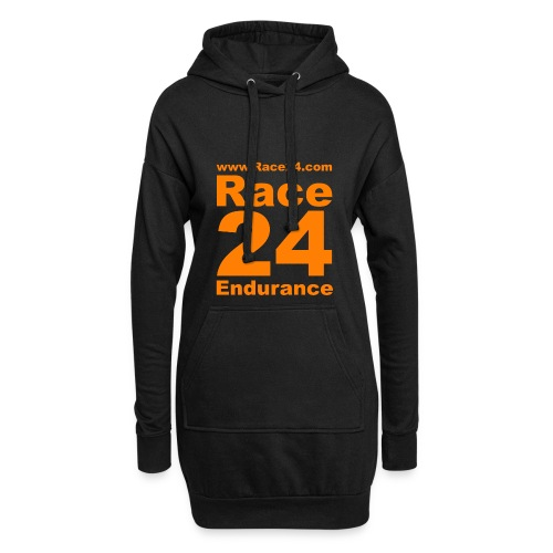 Race24 Logo in Orange - Hoodie Dress