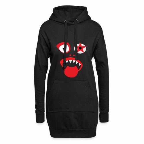 Clown Gesicht - Hoodie-Kleid