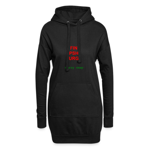 Merry nmap - Hoodie Dress