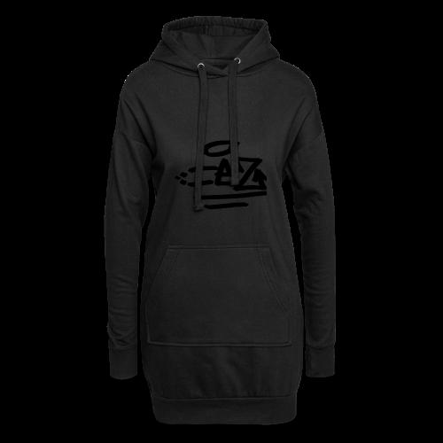 IEZ - Sweat-shirt à capuche long Femme