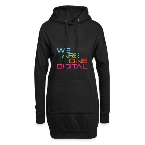 Official We Are One Digital Text Design - Hoodie Dress