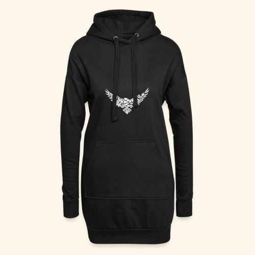 Adler, abstrakt - Hoodie-Kleid