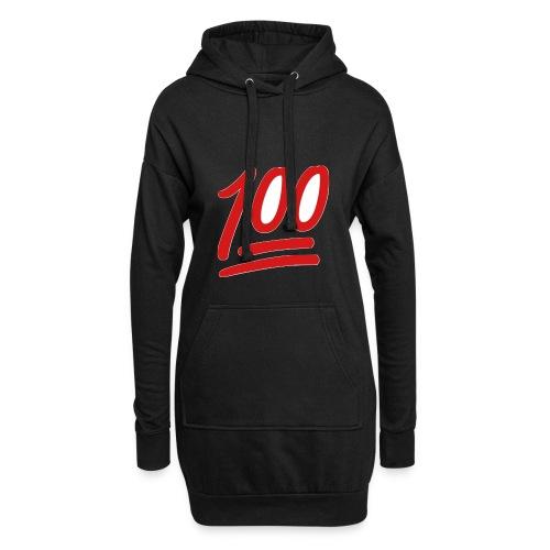 100 - Hoodiejurk