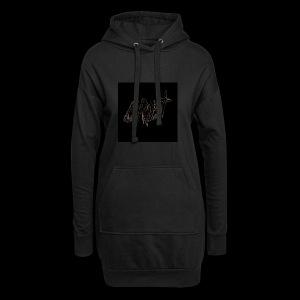 -Logo Qrust- - Sweat-shirt à capuche long Femme