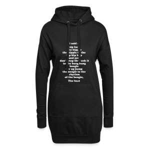 Hip Hop 1-2-1-2 - Hoodie Dress