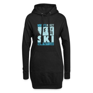 Skiing T Shirt - Hoodie Dress
