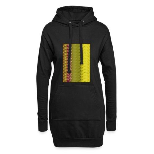 Motif chaire - Sweat-shirt à capuche long Femme