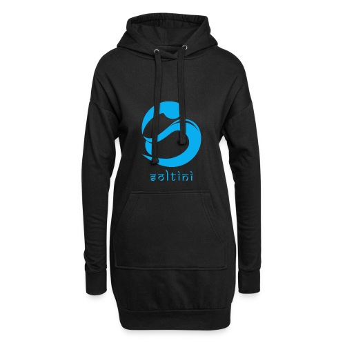 SoltiSquad Blue Logo for Soltini (Female) - Hoodie Dress