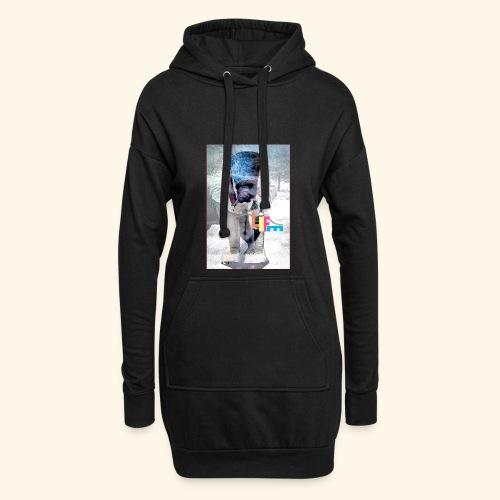 LIFE - Sweat-shirt à capuche long Femme