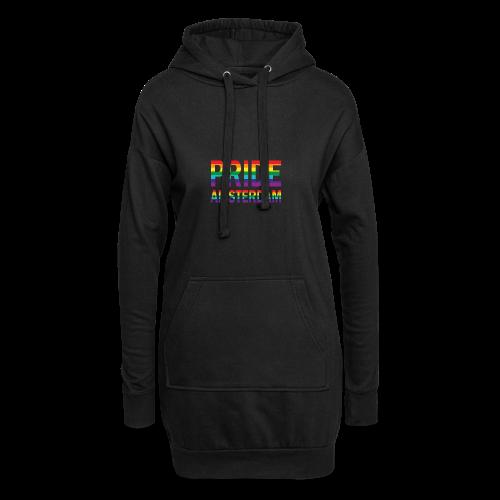 Pride Amsterdam in regenboog kleuren - Hoodiejurk