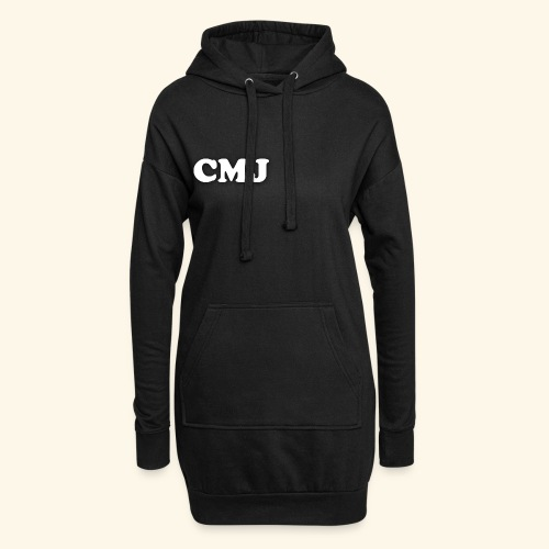 CMJ white merch - Hoodie Dress
