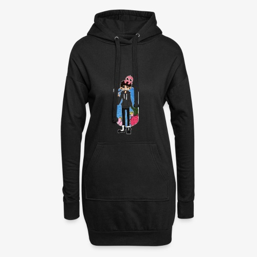 AquaJoii - Hoodie Dress