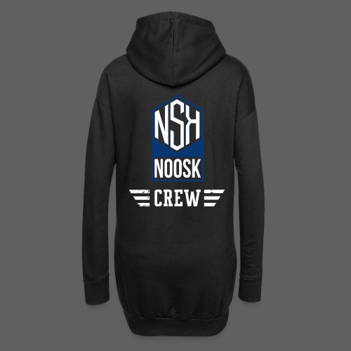 NOOSK CREW [BLEU] - Sweat-shirt à capuche long Femme