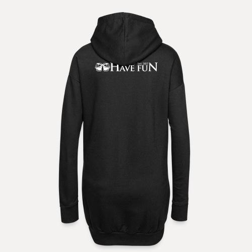 Logo Have Fun Malfurion - Hoodie-Kleid