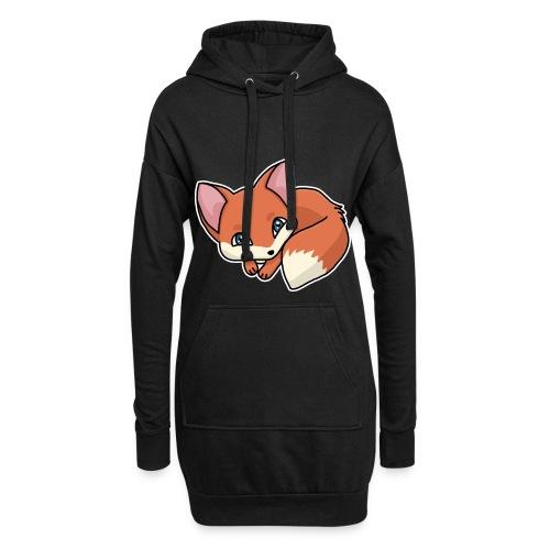Fuchs, Fuchswelpe, Rotfuchs, Comic, süß - Hoodie-Kleid