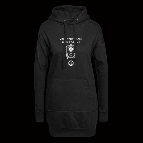 Make Your Glock Great Again 4 - Sweat-shirt à capuche long Femme