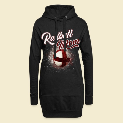 Radball Mom - Hoodie-Kleid