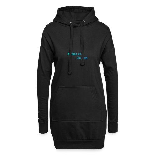 Notre logo - Sweat-shirt à capuche long Femme