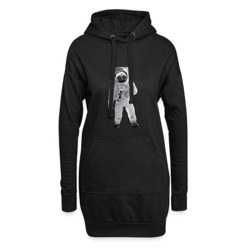 Space-Mops Astronaut Hund - Hoodie-Kleid