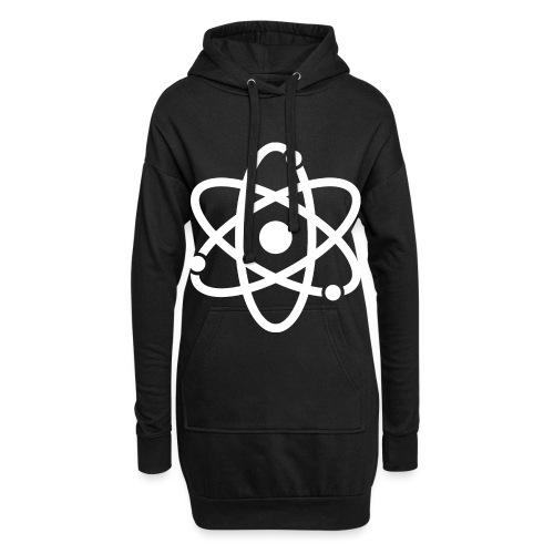 Atommodell - Hoodie-Kleid