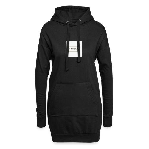 Minimalist - Sweat-shirt à capuche long Femme