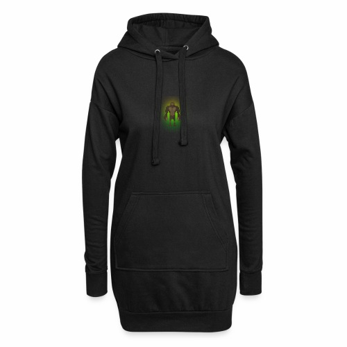 1980's Bigfoot Glow Design - Hoodie Dress