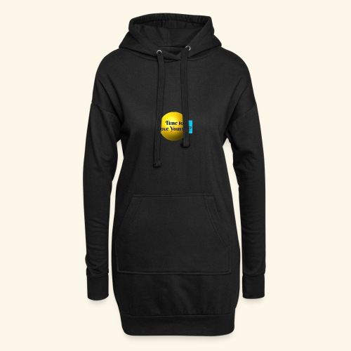 Time to Love Yourself - Hoodie-Kleid