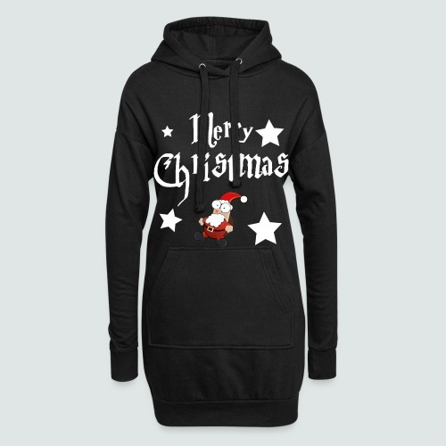 Merry Christmas - Ugly Christmas Sweater - Hoodie-Kleid