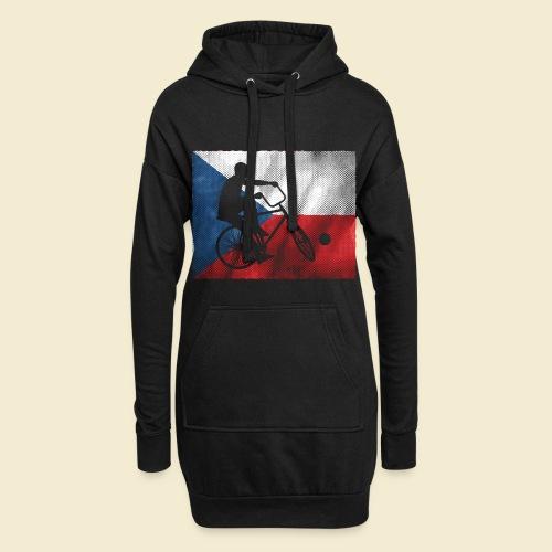 Radball | Flagge Tschechien - Hoodie-Kleid
