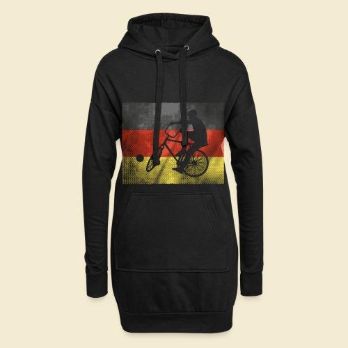 Radball | Flagge Deutschland - Hoodie-Kleid
