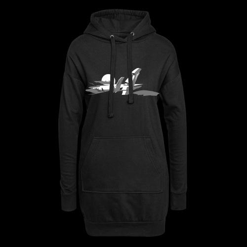 Tiki Shirt - Hoodie-Kleid