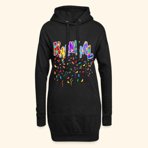 Karneval & Fasching Spaß Alt und Jung Party Shirt - Hoodie-Kleid