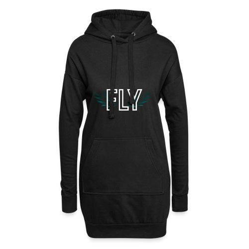 Wings Fly Design - Hoodie Dress